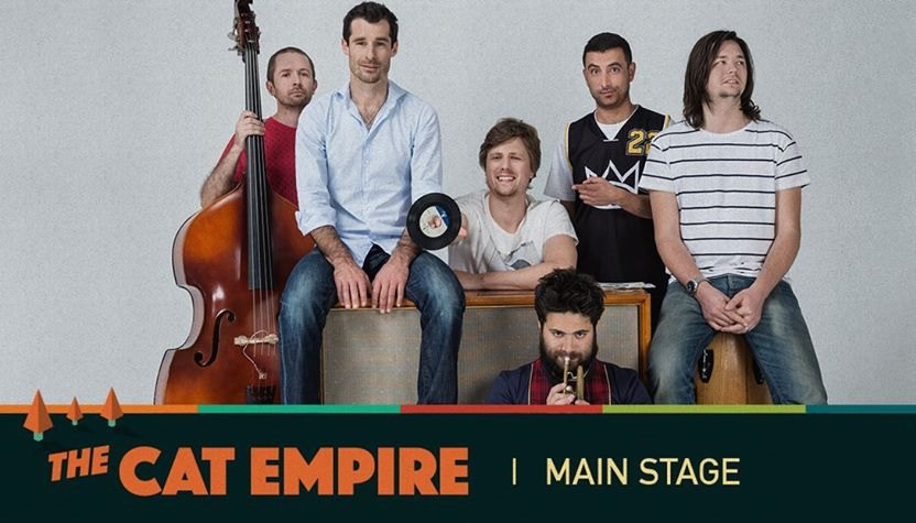 Rocking The Daisies 2015 The Cat Empire