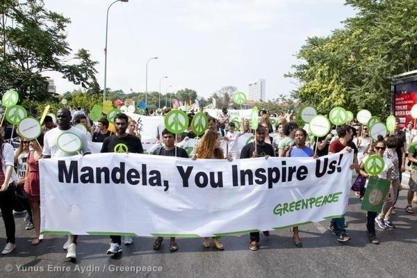 Mandela Day Beach Cleanup