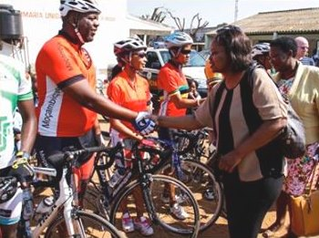 We Have Faith Act Now cycling Climate Justice2c