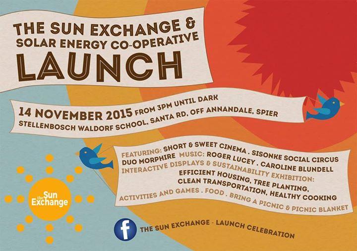 The Sun Exchange Launch Celebration