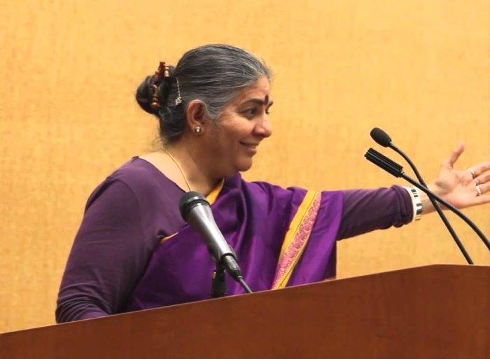 Vandana Shiva - Indian scholar environmental activist author
