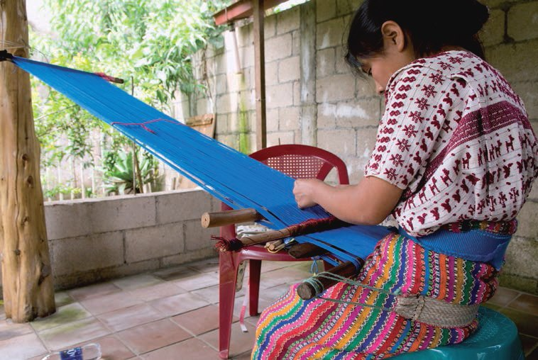 sewing crochet weaving vulnerable people climate change
