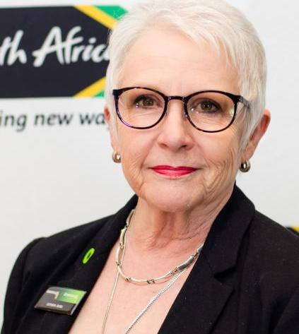 Lorraine Jenks joburg sandton green drinks food trees africa