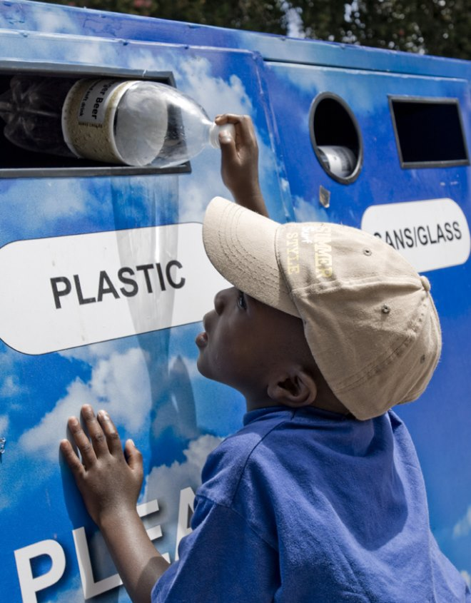 Kids recycling plastic figures south africa -1